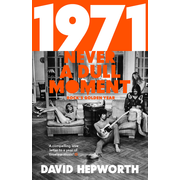 Penguin Random House 1971 - Never a Dull Moment: Rock's Golden Year book Music English Paperback 432 pages