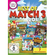 Best of Match3. Vol.8, 1 DVD-ROM - 7 Vollversionen
