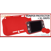 Bumper Protector + XL Grips for Switch Lite