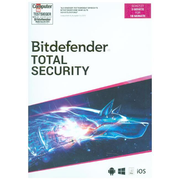 Bitdefender Total Security 2020 3 Geräte/18Monate, Code in a Box