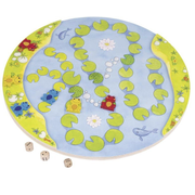 Goki One, Two, Croak Children Race board game