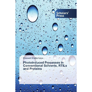 Photoinduced Processes in Conventional Solvents, RTILs and Proteins