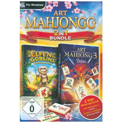 Art Mahjongg 2in1 Bundle, 1 CD-ROM - 2 Top Mahjongg-Spiele: Art Mahjong 3 & Elfen vs. Goblins