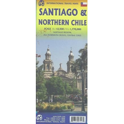 ITM City Map Santiago 1 : 12 500 / Northern Chile 1 : 1 770 000