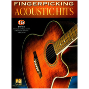 Fingerpicking Acoustic Hits, Guitar - 15 Songs arranged for Sologuitar In Notation And TAB. Intermediate Level