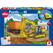 Bagger, 40 Teile, mit add on (Bagger) (Kinderpuzzle)