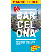 Barcelona Marco Polo Pocket Travel Guide 2018 - with pull out map - Free Touring App