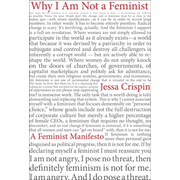 Penguin Random House Why I Am Not A Feminist: A Feminist Manifesto book Spanish Hardcover 176 pages
