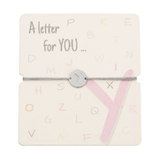 Armband mit Buchstaben - Y - A letter for you ...
