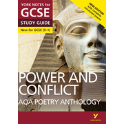 AQA Poetry Anthology - Power and Conflict: York Notes for GCSE (9-1)