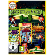 Secrets of Magic 1 - 3, 1 DVD-ROM - 3 Vollversionen. The Book of Spells. Hexen und Zauberer. Happy Halloween
