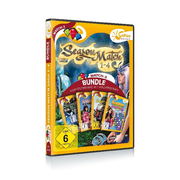 Season Match 1-4, 1 DVD-ROM - Match-3 Bundle. 4 deutschsprachige Vollversionen. DE