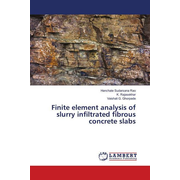 Finite element analysis of slurry infiltrated fibrous concrete slabs
