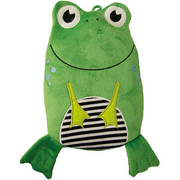 Hugo Frosch 0091 hot water bottle 0.8 L Green, White