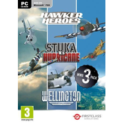 WWII Collection, Hawker, Stuka, Wellington, 1 DVD-ROM - Hawker Heroes, Stuka vs. Hurricane, Wellington. Add-On für Flight Simulator X