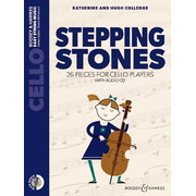 Stepping Stones, Violoncello, m. Audio-CD. - 26 pieces for cello players