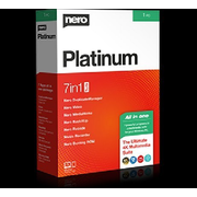 Nero Platinum 365, 1 CD-ROM