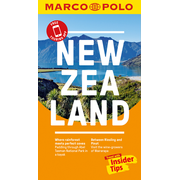 New Zealand Marco Polo Pocket Travel Guide 2018 - with pull out map - Free Touring App
