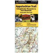 National Geographic Adventure Travel Map Schaghticoke Mountain to East Mountain