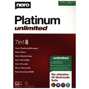 Nero Platinum Unlimited, 1 CD-ROM