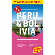 Peru and Bolivia Marco Polo Pocket Travel Guide - with pull out map - Free Touring App