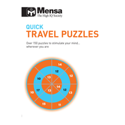 ISBN Quick Travel Puzzles (Mensa) book Paperback 224 pages
