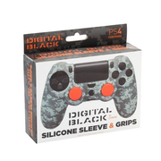 Blade Silicone + Grips Camo Pixel Black