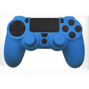 PS4 Silicone Skin + Grips (Blue)