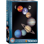 Eurographics NASA The Solar System Jigsaw puzzle 1000 pc(s)