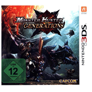 Nintendo Monster Hunter Generations 3DS Basic Nintendo 3DS