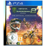 Monster Energy Supercross 2, 1 PS4-Blu-ray Disc - The Official Videogame. Für PlayStation 4
