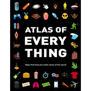 Hachette UK Atlas of Everything book English Hardcover 112 pages