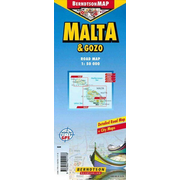 Malta & Gozo - 1 : 50 000 +++ Malta & Gozo Road Map, Detailed Road Map + City Maps, Made for GPS