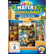 Match 3 Sammlerpaket, 1 CD-ROM (Ägypten Edition)