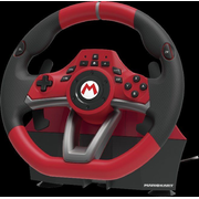 Hori NSW-228U Gaming Controller Black, Red USB Steering wheel + Pedals Analogue Nintendo Switch