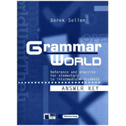 Grammar World - Reference and practice for elementary to intermediate students / Lösungsheft