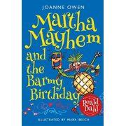 ISBN Martha Mayhem and the Barmy Birthday book Paperback 240 pages