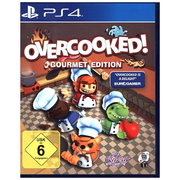 Overcooked! (Gourmet Edition), 1 PS4-Blu-ray Disc (Gourmet Edition) - Für Playstation 4