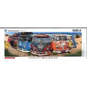 VW Bus - KombiNation (Puzzle) - Panorama-Puzzle