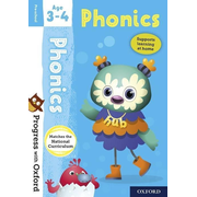 Progress with Oxford: Phonics Age 3-4