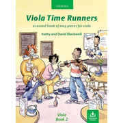 ISBN Viola Time Runners + CD ( A second of easy pieces for viola ) book