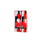 Moleskine Coca-Cola Limited Edition writing notebook Black, Red, White