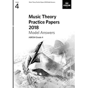Music Theory Practice Papers 2018 Model Answers G4