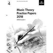 Music Theory Practice Papers 2018 - Grade 4