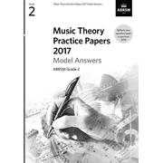 Music Theory Practice Papers 2017 Model Answers