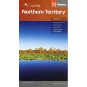 Northern Territory State Map 1 : 800 000