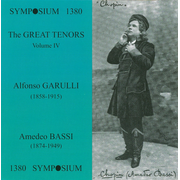 Great Tenors, Vol. 4: Alfonso Garulli & Amedeo Bassi