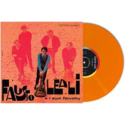 FAUSTO LEALI E I SUOI NOVELTY LP orange LTD