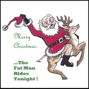Merry Christmas...the Fat Man Rides Tonight