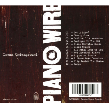 Piano Wire Dream Underground